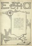 Taylor University Echo: February 14, 1922