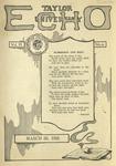 Taylor University Echo: March 28, 1922