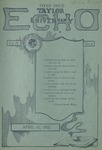 Taylor University Echo: April 11, 1922 by Taylor University