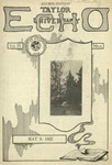 Taylor University Echo: May 9, 1922 by Taylor University