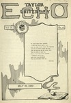 Taylor University Echo: May 23, 1922 by Taylor University
