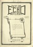 Taylor University Echo: October 24, 1922