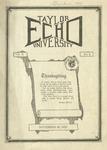 Taylor University Echo: November 28, 1922
