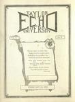 Taylor University Echo: February 13, 1923