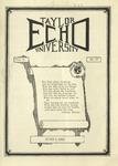 Taylor University Echo: June 5, 1923