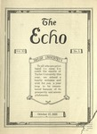 The Echo: October 17, 1923 by Taylor University
