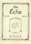 The Echo: November 14, 1923 by Taylor University