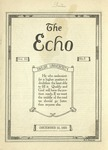 The Echo: December 12, 1923 by Taylor University