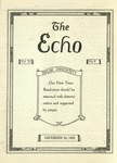 The Echo: December 26, 1923 by Taylor University