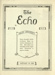 The Echo: January 23, 1924 by Taylor University