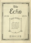 The Echo: February 6, 1924 by Taylor University
