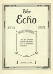 The Echo: March 5, 1924 by Taylor University