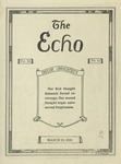 The Echo: March 19, 1924