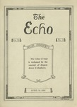 The Echo: April 16, 1924 by Taylor University