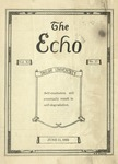 The Echo: June 11, 1924 by Taylor University