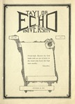 Taylor University Echo: October 28, 1924 by Taylor University