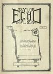 Taylor University Echo: December 4, 1924