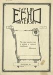 Taylor University Echo: December 15, 1924