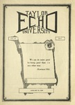 Taylor University Echo: January 16, 1925 by Taylor University