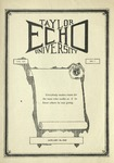 Taylor University Echo: January 30, 1925 by Taylor University