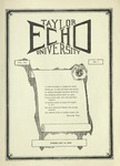 Taylor University Echo: February 14, 1925