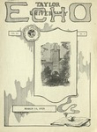 Taylor University Echo: March 14, 1925 by Taylor University