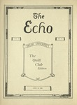 The Echo: April 21, 1925 by Taylor University