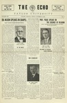 The Echo: October 30, 1925