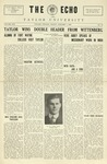 The Echo: January 1, 1926 by Taylor University