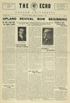 The Echo: January 8, 1926 by Taylor University
