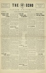 The Echo: January 15, 1926 by Taylor University