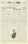 The Echo: January 29, 1926 by Taylor University