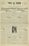 The Echo: February 12, 1926 by Taylor University