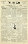 The Echo: April 9, 1926 by Taylor University