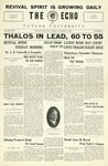 The Echo: October 8, 1926 by Taylor University