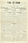 The Echo: October 15, 1926 by Taylor University