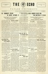 The Echo: October 29, 1926 by Taylor University