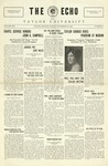 The Echo: November 12, 1926 by Taylor University