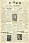 The Echo: November 19, 1926 by Taylor University