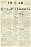 Taylor University Echo (January 11, 1927) by Taylor University