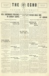 The Echo: January 18, 1927 by Taylor University