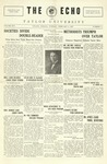 The Echo: February 8, 1927 by Taylor University