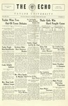The Echo: February 22, 1927 by Taylor University