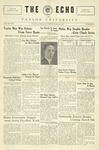 The Echo: March 8, 1927 by Taylor University