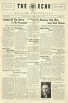 The Echo: April 19, 1927 by Taylor University