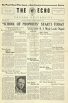 The Echo: April 26, 1927 by Taylor University