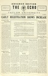 The Echo: September 14, 1927 by Taylor University