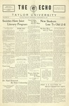 The Echo: September 28, 1927 by Taylor University