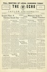 The Echo: October 26, 1927 by Taylor University