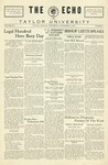The Echo: November 2, 1927 by Taylor University